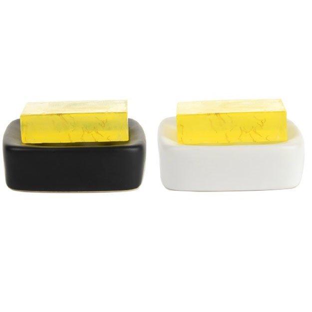 High Quality Fashion Rectangle Design Ceramic Soap Box