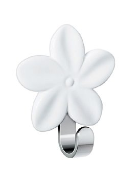 New Arrival Pretty White Floral Design Bathroom Hook