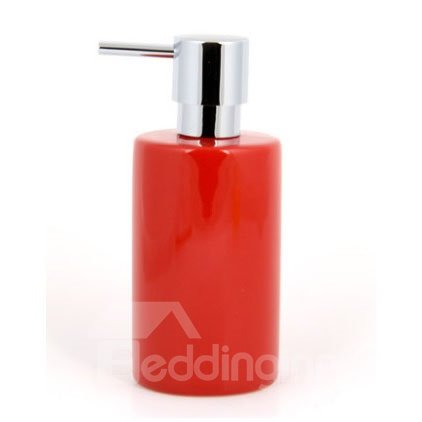 New Arrival Modern Fashion Pure Color Ceramic Lotion Bottle