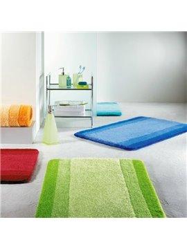 New Arrival Fancy Simple Style Bathroom Mat