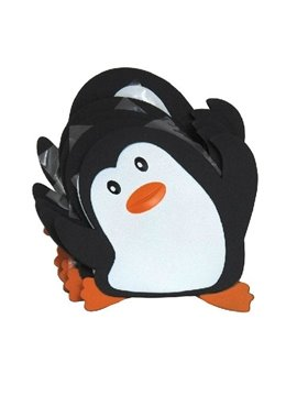 New Arrival Cute Penguin 5-piece Anti-slip Stick