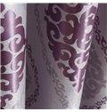 Luxury Elegant Super Soft with Snowflake Grommet Top Custom Curtain