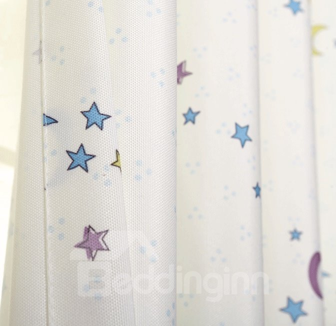 Blue Curtains blue curtains with white stars : Blue Curtains With White Stars images