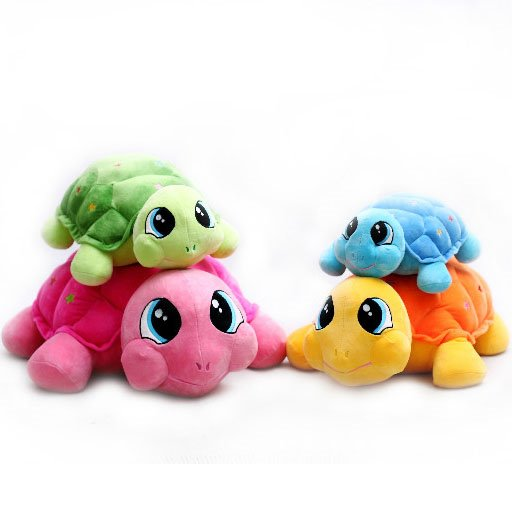 Adorable Cute Sea Turtle Shape Plush Travel