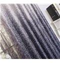 Top Quality Modern Eternal Tree Gray Custom Curtain