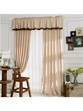 Top Class Elegant Deluxe Gold Grass Lawn Design Double Pinch Pleat  Curtain
