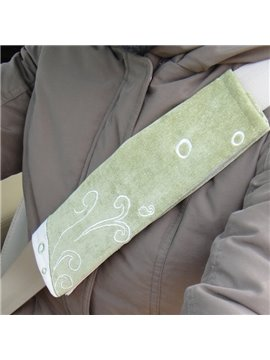 High Quality Ice Silk Material Car Seat Belt Cover