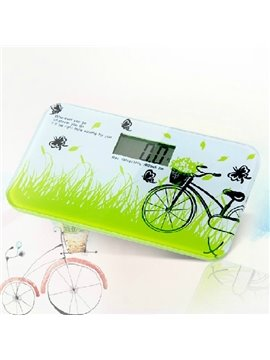New Style Wonderful Elegant Bicycle Printing Weight Scale