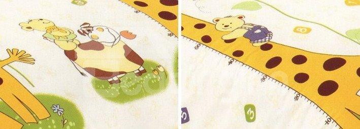 Magnificent Animal Paradise Print 4-Piece Cotton Duvet Cover Sets