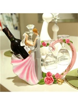 New Style Wonderful Romantic Wedding Pink Wine Rack