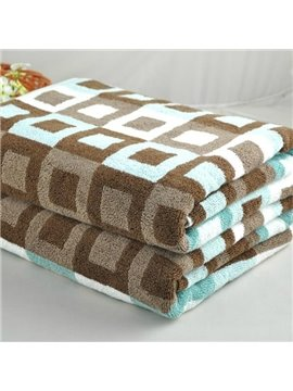 Unique Fashion Geometric Figure  Full Cotton Bath Towel