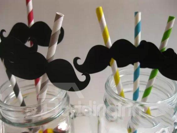 New Arrival Creative Fashion Moustache Pattern One Set Photo Props