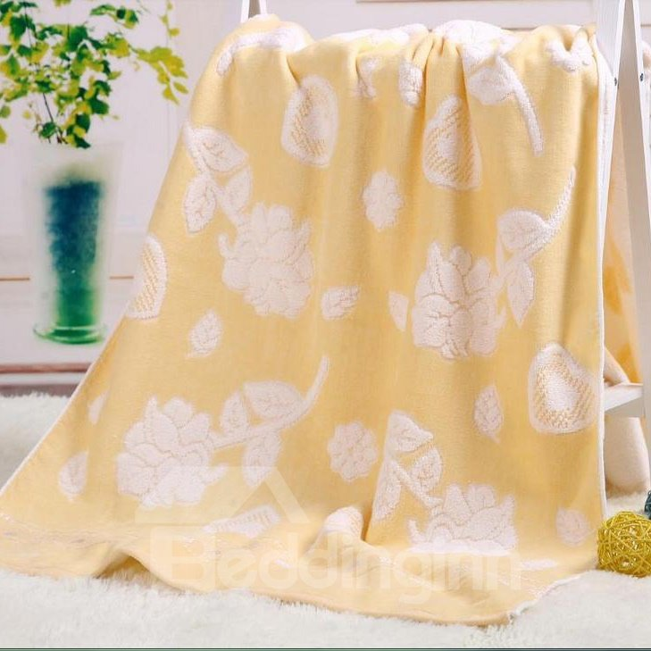 High Quality Gorgeous Hearth And Rose Pattern Bath Towel