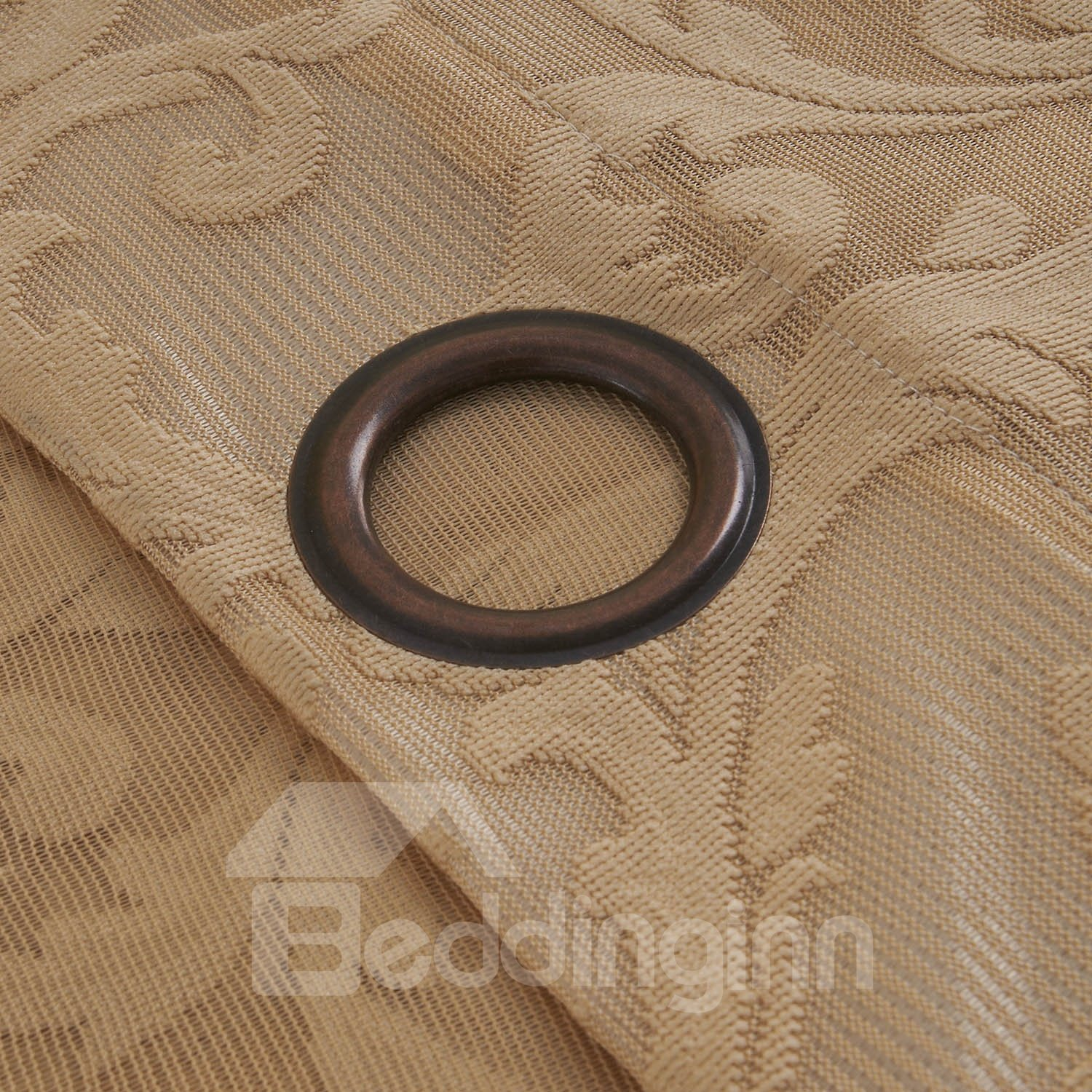 European Style Classic Customized Grommet Top Sheer Curtain