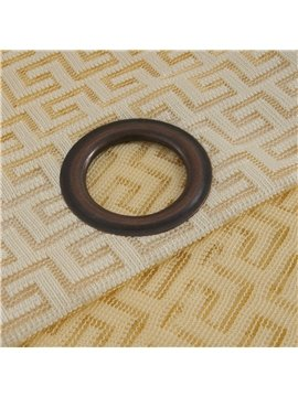 Simple Home Fashion Grommet Top Custom Curtain