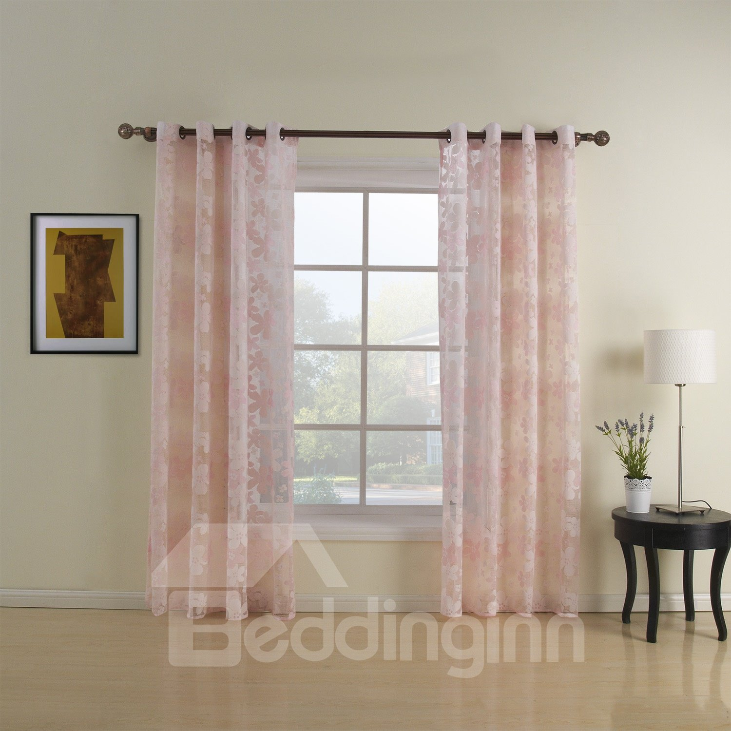 Top Quality Fantastic Modern Custom Sheer Curtain