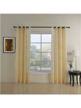 Modern Simple Fantatic Polyester Custom Sheer Curtain