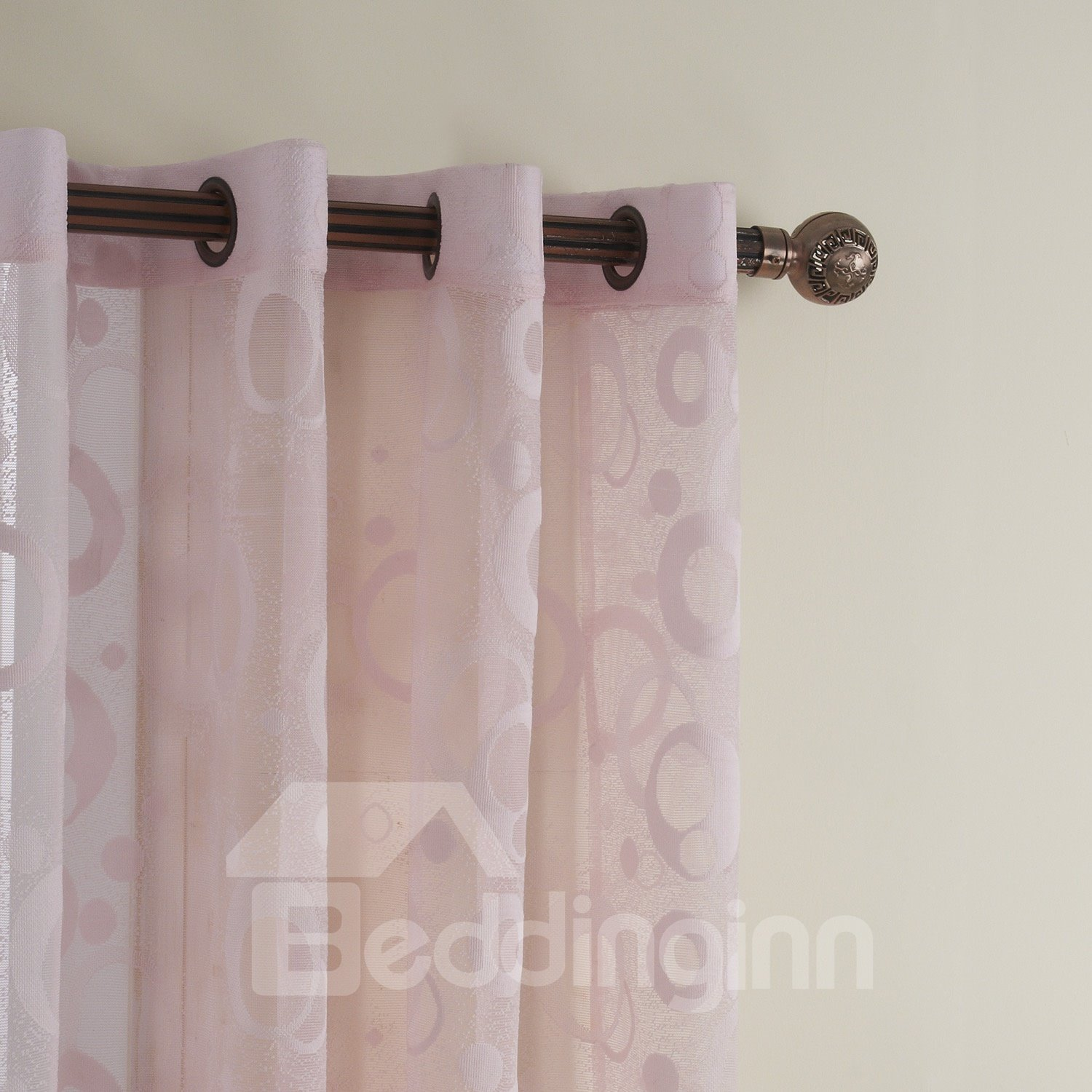 New Style Stunning Modern Simple Custom Sheer Curtain