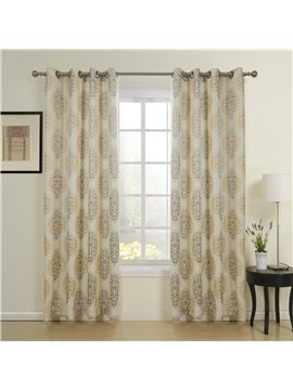 New Classic High Quality Grommet Top Custom Curtain
