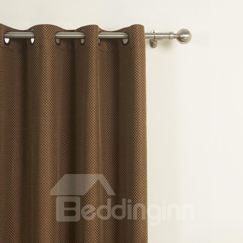 Gorgeous Amazing Grommet Top Coffee Custom Curtain