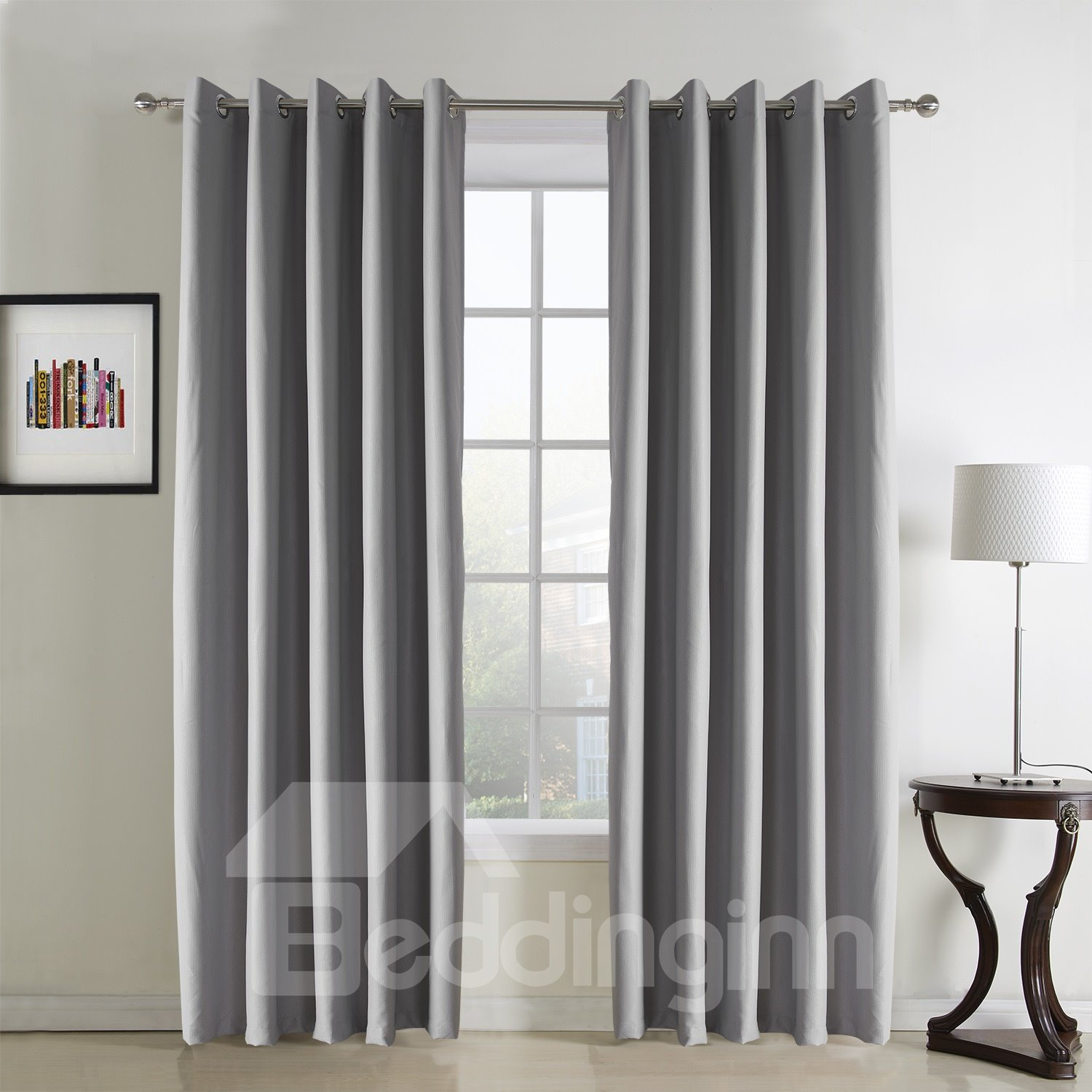 New Style Fantastic Polyester Custom Grommet Top Curtain