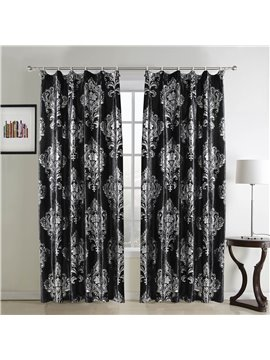 Fantastic Beautiful Flannelette Hot Silver Custom Curtain