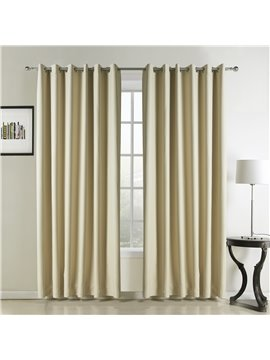 Best Selling Beautiful Bright Yellow Custom Curtain