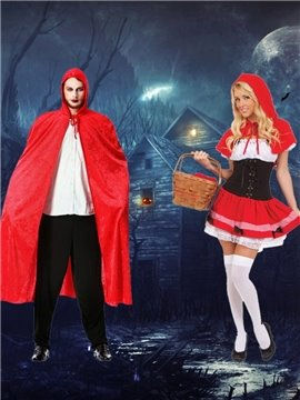 Hot Selling Attractive Sexy Hoodwinked Uniform Design Costume