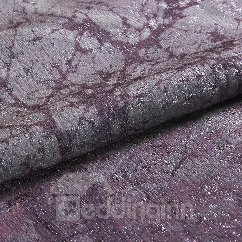 Best Quality Romantic Purple Grommet Top Custom Curtain