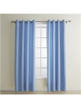 New Classic Amazing Dyed Canvas Cotton Custom Curtain