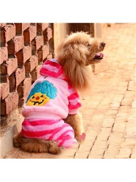 Fancy Halloween Smile Pumpkin Design Dog Clothing