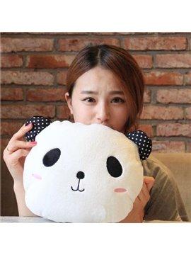 Super Lovely Panda Shape Pattern Children Pillow and Blanket