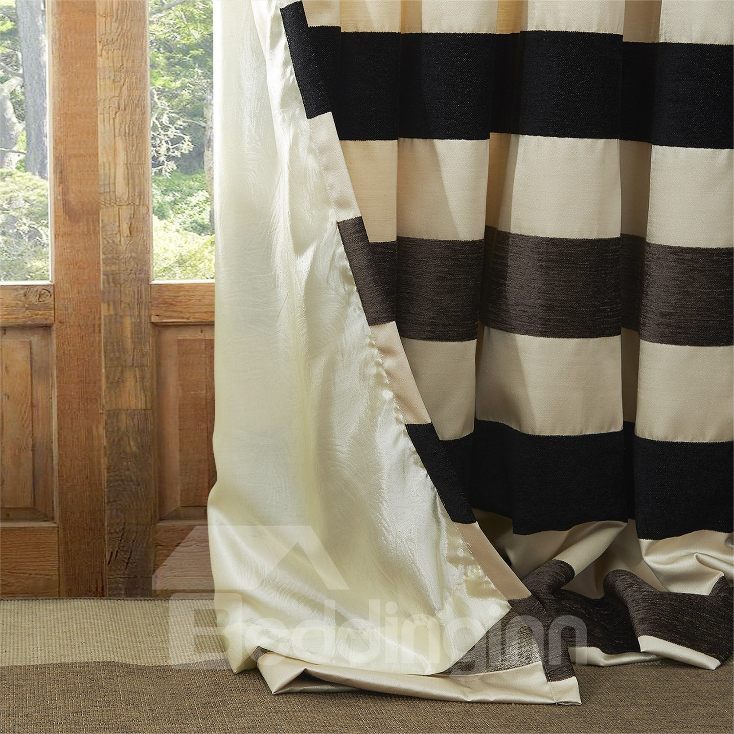 High Classic Amazing Custom Curtain with Lining