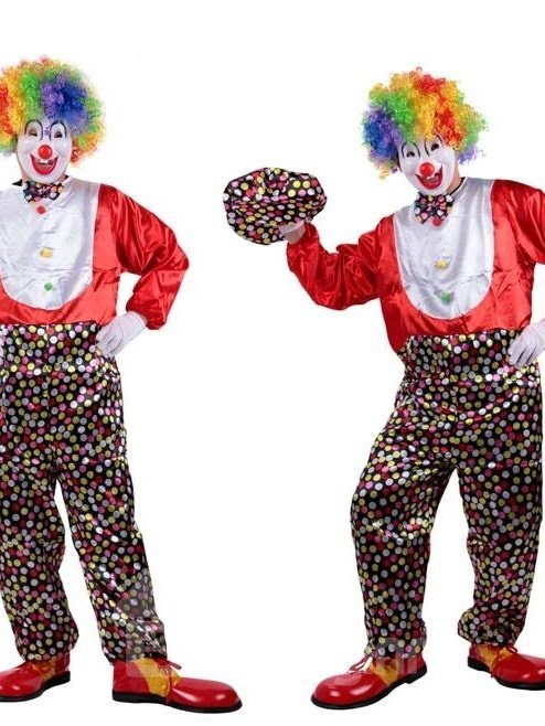 Hot Selling Fancy Cute Clown Costume Clothing