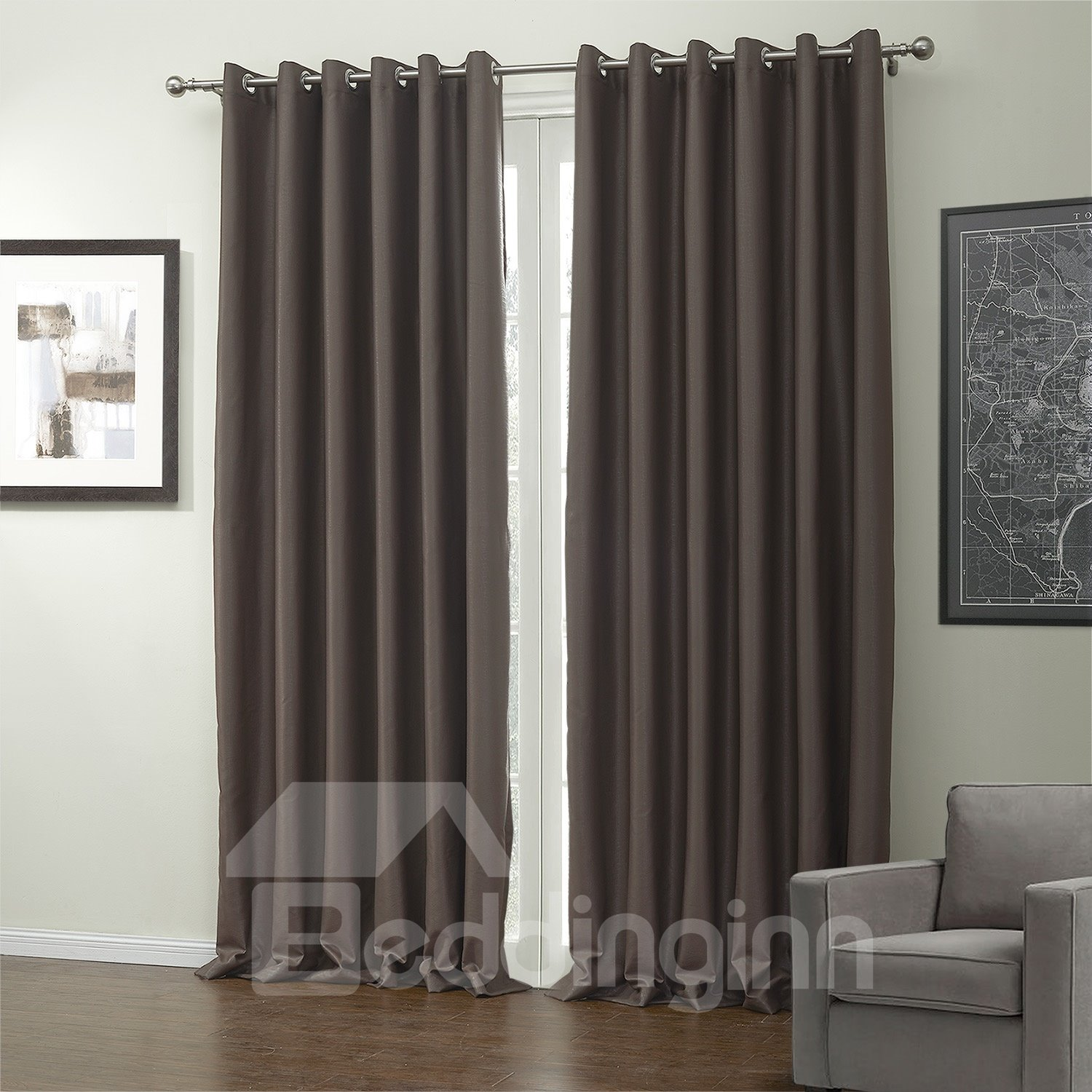 New Classic Functional Blackout Custom Made Curtain
