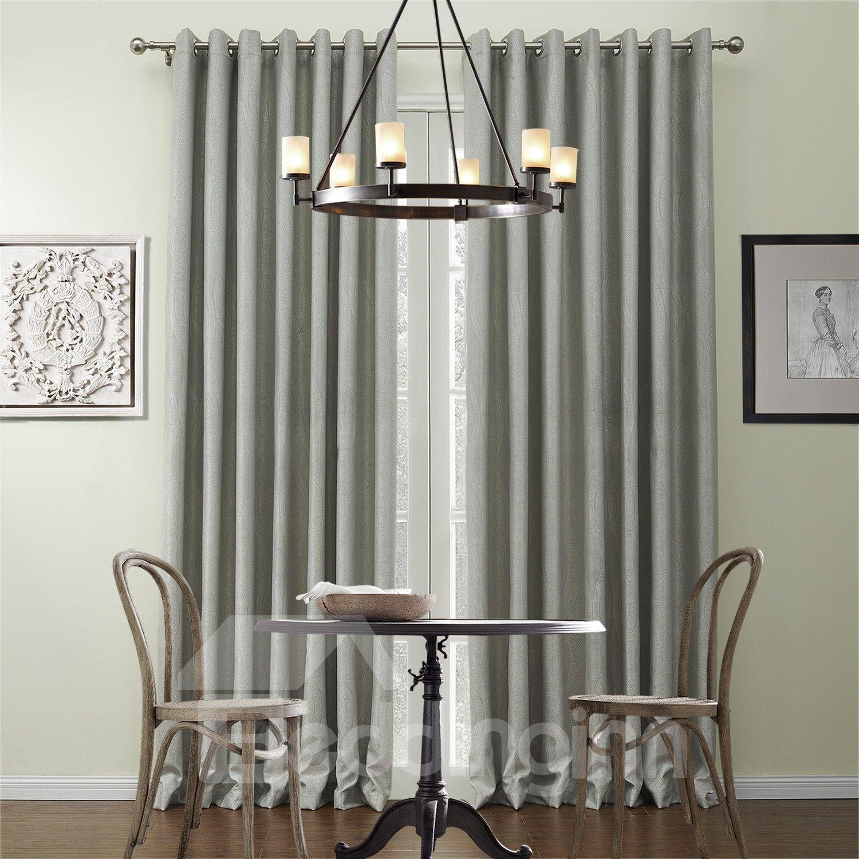 High Quality Wonderful Polyester Half Shading Custom Curtain