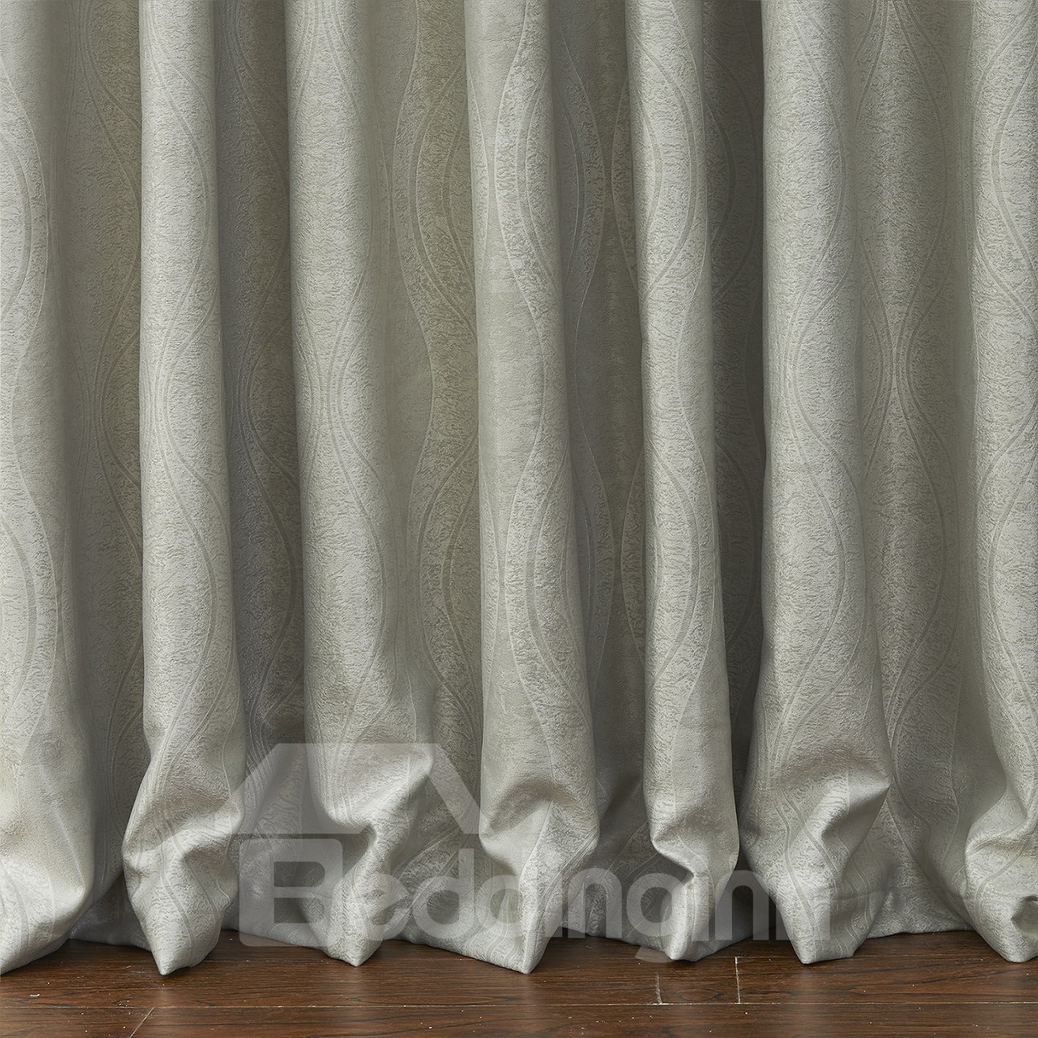 High Quality Wonderful Polyester Half Shading Custom Curtain