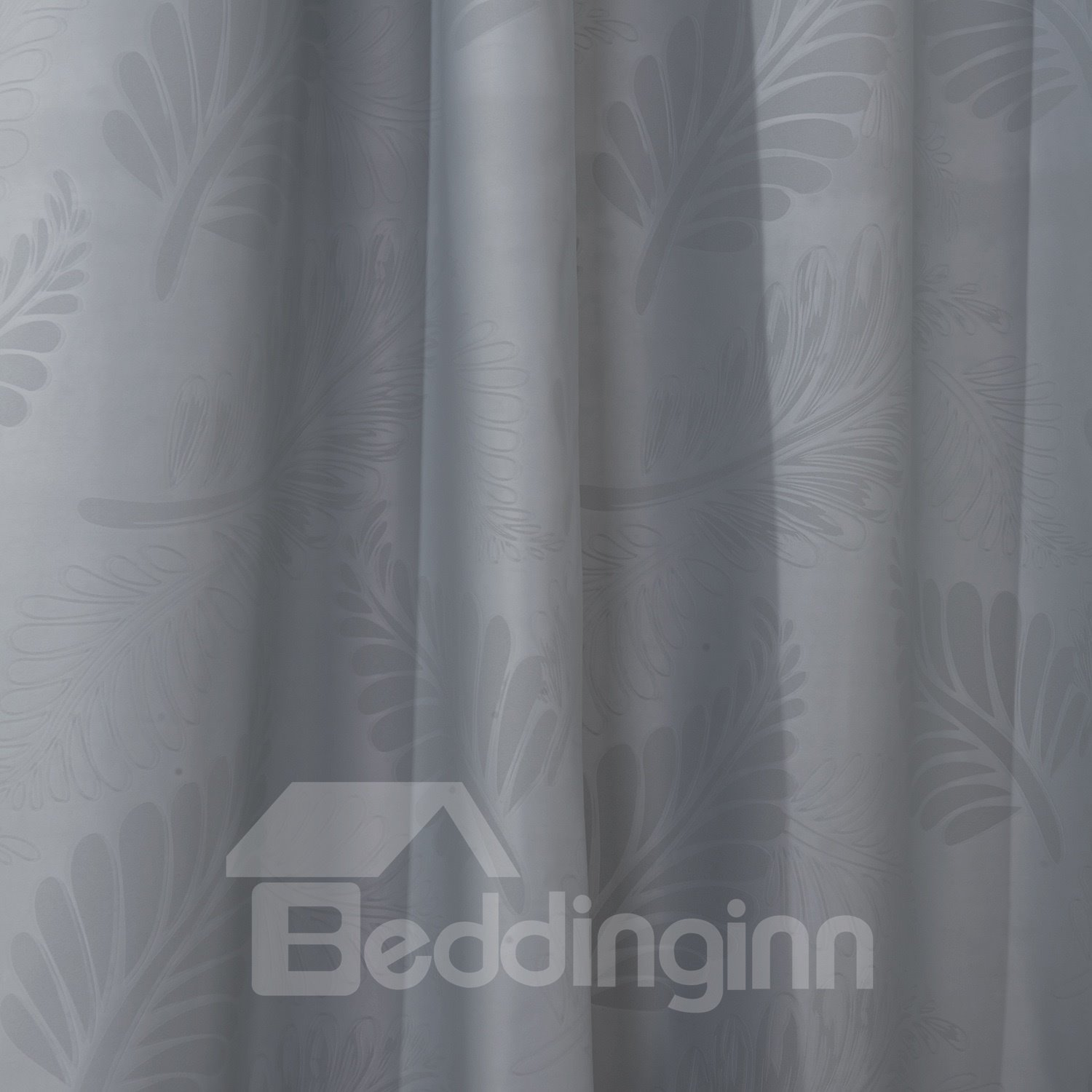 Wonderful High Density Shading Gray Custom Curtain