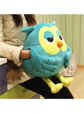Creative Gift Owl Shape Pattern Comfortable Throw Pillow
