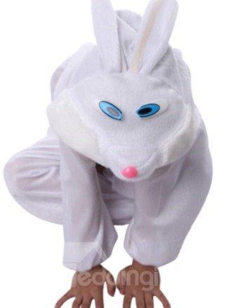 Hot Selling Fancy Cute White Rabbit Costume