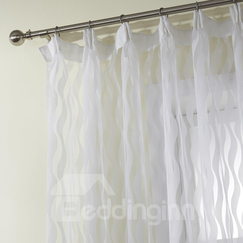 New Style Fantastic Polyester Custom Sheer Curtain