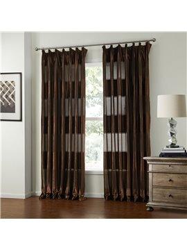 New Classic Wonderful Flannelette Custom Sheer Curtain