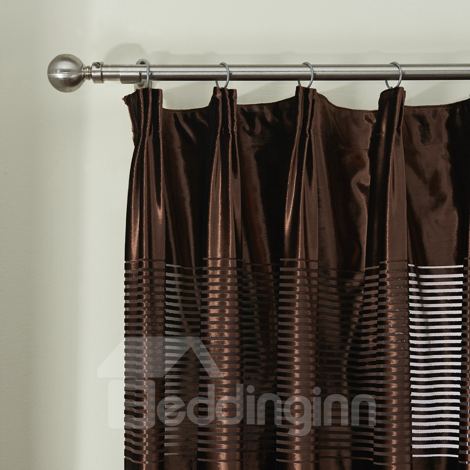 New Classic Wonderful Flannelette Custom Sheer Curtain