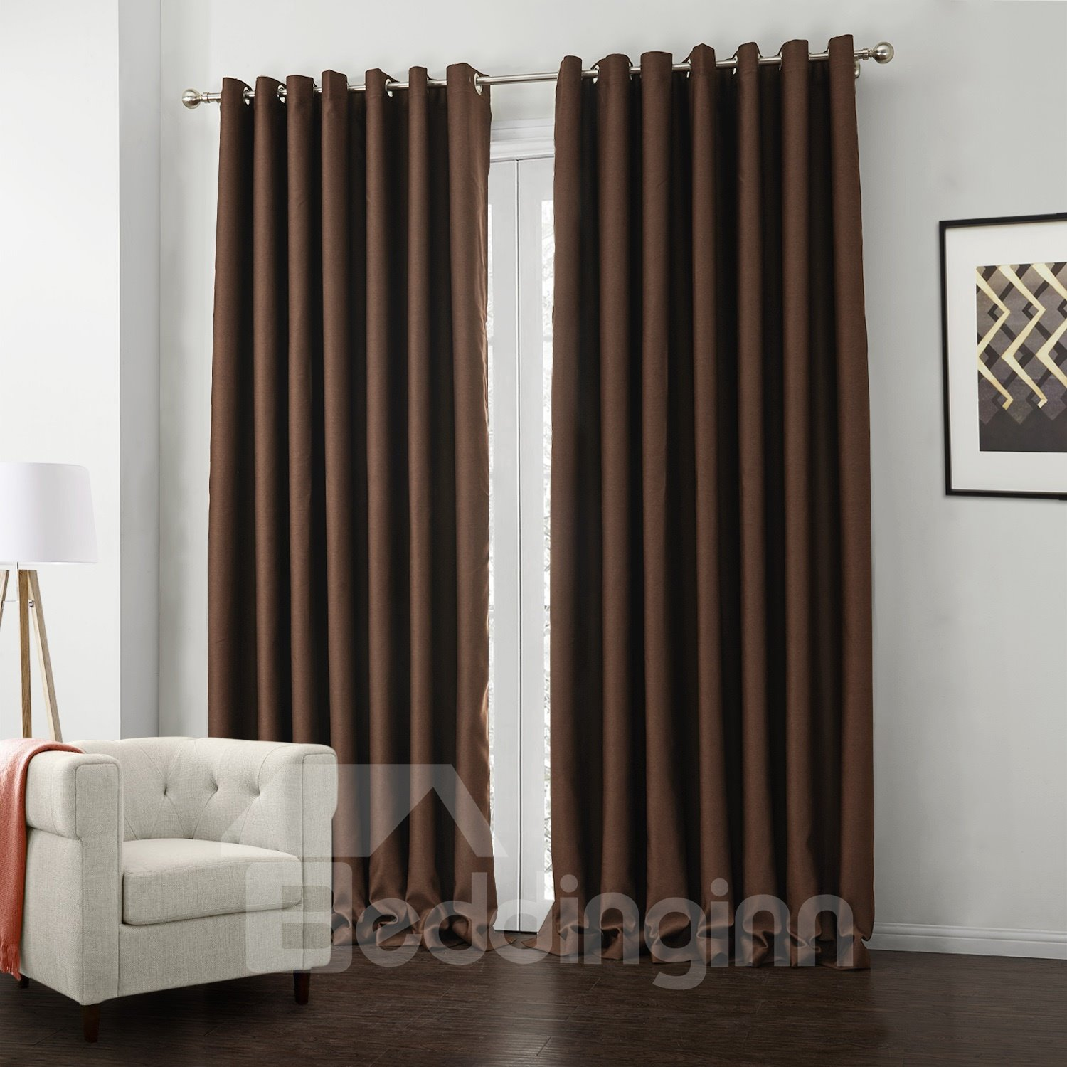 New Classic Wonderful Cationic Thickening High Density Custom Curtain