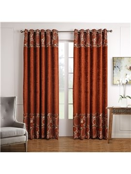 Top Class Rich Color Unique Pattern Custom Curtain