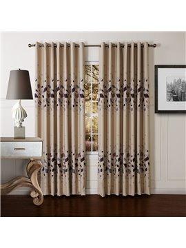 Wonderful Gorgeous Polyester Grommet Top Custom Curtain