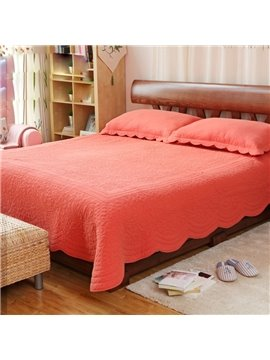 European Style Pure Color 100% Cotton Fitted Sheet Bed in a Bag Set