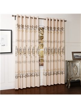 Fantastic Wonderful Pretty Gold Stamping Custom Curtain