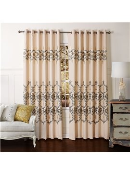New Classic Pretty Grommet Top Custom Curtain