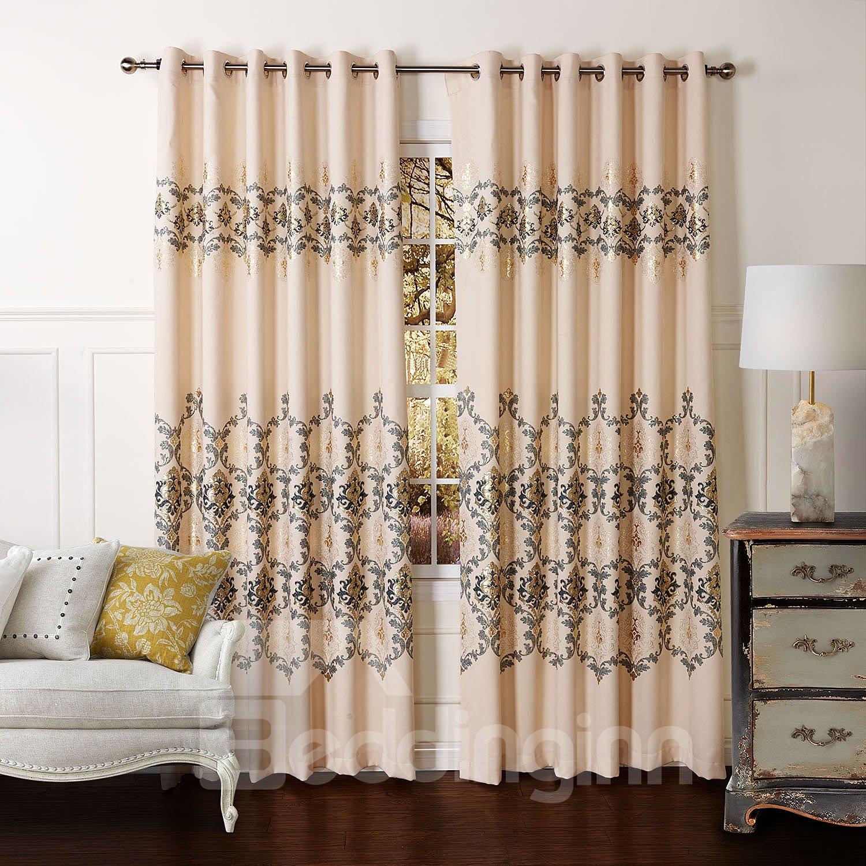 New Classic Pretty Grommet Top Custom Curtain